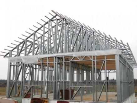 Компания Альбатрос занимается монтированием зданий каркасного типа из высококаче. Днепр, Днепропетровская область. фото 6
