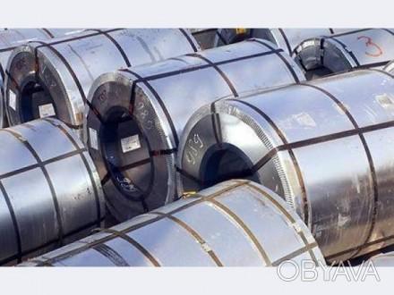 Оцинкованный металл с полимерным покрытием 0,4*1250 Ral 6005, 8017, 3005, 9003, . Днепр, Днепропетровская область. фото 1