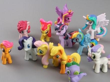 Фигурки My little pony от Hasbro. Луцк. фото 1