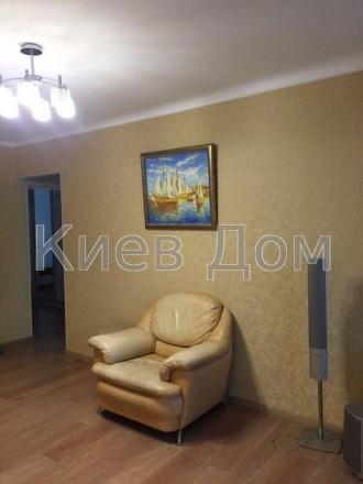 Сдаётся отличная трехкомнатная просторная, светлая квартира в хорошем состоянии . Киев, Киевская область. фото 9