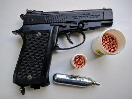 Продам пневматический пистолет Аникс А 101 б\у (полный комплект с паспортом ) + . Запорожье, Запорожская область. фото 2
