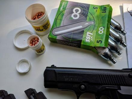 Продам пневматический пистолет Аникс А 101 б\у (полный комплект с паспортом ) + . Запорожье, Запорожская область. фото 6