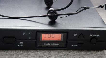 Радіосистема Audio-Technica 2000 series з наголовним мікрофоном. Привезена з США. Львов, Львовская область. фото 5