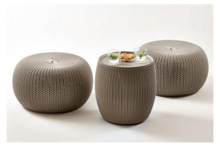 """"""" Садовая уличная мебель Keter Urban Knit Set ( Cozy Set ) """"  Сочетание элеган. Ужгород, Закарпатская область. фото 11"""