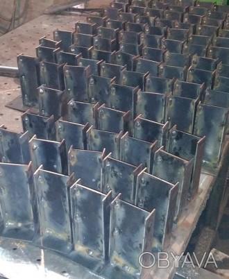 Предлагаем услуги  по серийному  изготовлению различных металлических комплекту. Запорожье, Запорожская область. фото 1