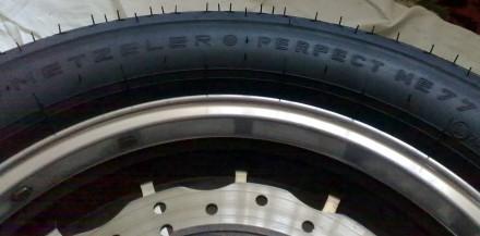 Продам мотошину в Горловке METZELER Perfect ME 77 130/90 R15 66S TL/ТТ. Шина ку. Горловка, Донецкая область. фото 4