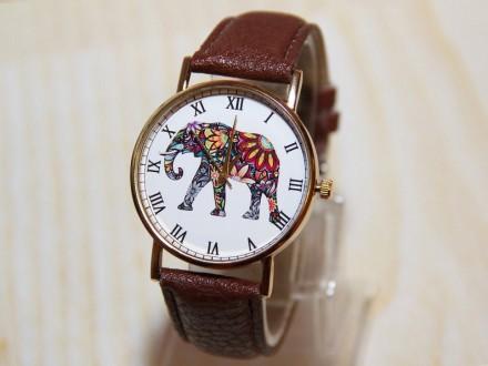 Наручные часы слон, Женские часы, Мужские часы  Материал циферблата: Стекло , . Житомир, Житомирская область. фото 4