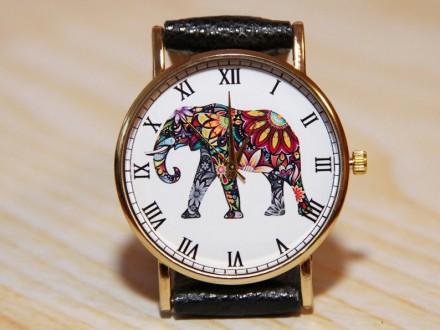 Наручные часы слон, Женские часы, Мужские часы  Материал циферблата: Стекло , . Житомир, Житомирская область. фото 3