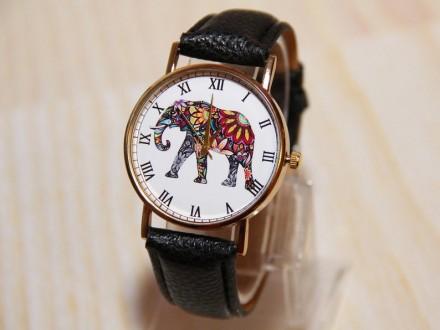 Наручные часы слон, Женские часы, Мужские часы  Материал циферблата: Стекло , . Житомир, Житомирская область. фото 5