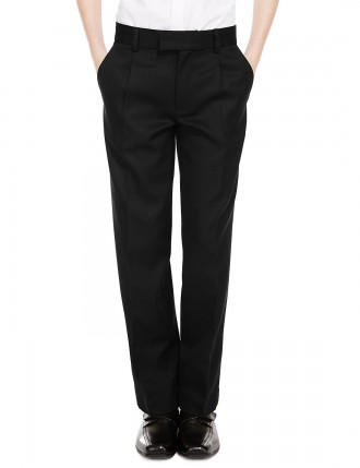 Шерстяные брюки для взрослых Pleat Front Supercrease с тройным действием. Киев. фото 1