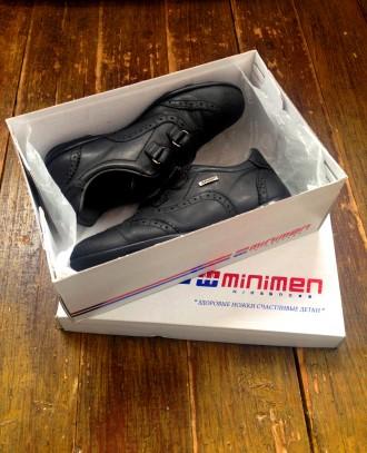 Туфли/кроссовки,детские,100% кожа,для мальчика, 34 р/ 21,5 см/от minimen.. Киев. фото 1
