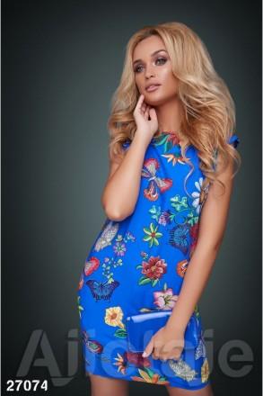 Платье с ярким принтом.. Полтава. фото 1