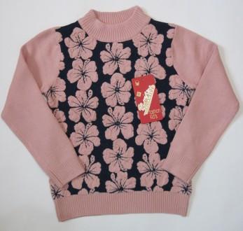 Детский свитер на девочку Yayikiss (120 см - 160 см). Харьков. фото 1