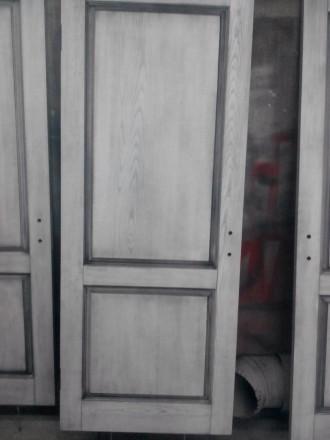 Изготовим под заказ двери и накладки на металлические двери из массива дуба.ясен. Чернигов, Черниговская область. фото 13