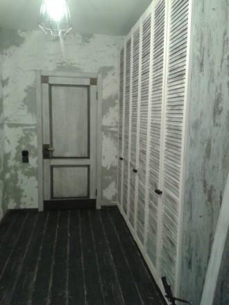 Изготовим под заказ двери и накладки на металлические двери из массива дуба.ясен. Чернигов, Черниговская область. фото 5