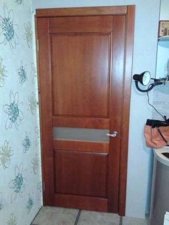 Изготовим под заказ двери и накладки на металлические двери из массива дуба.ясен. Чернигов, Черниговская область. фото 9