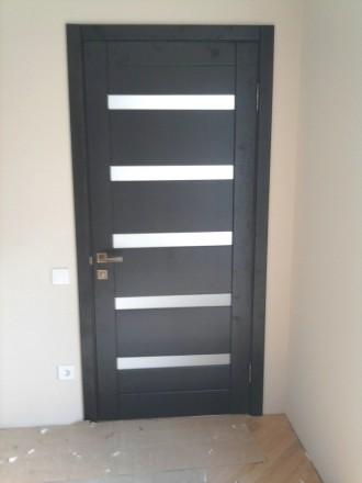 Изготовим под заказ двери и накладки на металлические двери из массива дуба.ясен. Чернигов, Черниговская область. фото 7