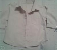 Продам рубашечку на мальчика нежно-бежевого цвета,новая с бирками,р.90,18-24 мес. Чернигов, Черниговская область. фото 2