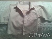 Продам рубашечку на мальчика нежно-бежевого цвета,новая с бирками,р.90,18-24 мес. Чернигов, Черниговская область. фото 5