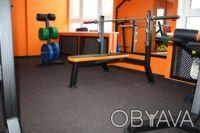 Покрытие для спортивных, тренажерных, тренеровочных залов. Борисполь. фото 1