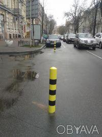 Парковочный столбик. Ограничительный столбик. Сигнальный столбик. Борисполь. фото 1