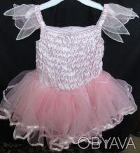Платье Matalan нарядное с очень пышной многоярусной юбочкой. Цвет нежно-розовый,. Сумы, Сумская область. фото 3
