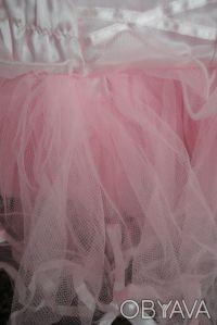 Платье Matalan нарядное с очень пышной многоярусной юбочкой. Цвет нежно-розовый,. Сумы, Сумская область. фото 4
