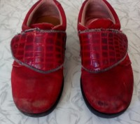 Туфельки кожаные, подошва целая. По стельке 16 см.. Чернигов, Черниговская область. фото 3