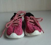 Продаю кроссовочки для девочки текстильные,розовые,размер 22,внутри по стельке 1. Черкассы, Черкасская область. фото 5