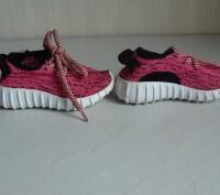 Продаю кроссовочки для девочки текстильные,розовые,размер 22,внутри по стельке 1. Черкассы, Черкасская область. фото 4