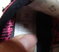 Продаю кроссовочки для девочки текстильные,розовые,размер 22,внутри по стельке 1. Черкассы, Черкасская область. фото 7