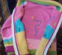 Продаю теплую кофточку на девочку приблизительно 3-4 года . Кофта в очень хороше. Киев, Киевская область. фото 4