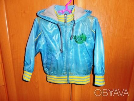 Продаю отличную курточку, в прекрасном состоянии. Носили мало, была на сменку. П. Черкассы, Черкасская область. фото 1