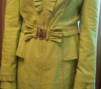 Продам демисезонный плащ на девочку-подростка 11-13 лет.  Одевался один раз. Д. Днепр, Днепропетровская область. фото 2