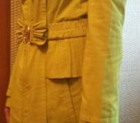 Продам демисезонный плащ на девочку-подростка 11-13 лет.  Одевался один раз. Д. Днепр, Днепропетровская область. фото 5