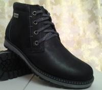 Мужские зимние ботинки из нубука MADOKS Распродажа. Одесса. фото 1