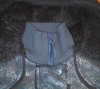 Демисезонная курточка для девочки на искусственном меху. Замеры:длина 48 см., ши. Київ, Київська область. фото 3