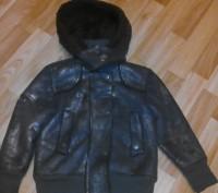Демисезонная курточка для девочки на искусственном меху.. Киев. фото 1