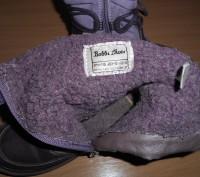Продам сапожки демисезонные  тканевые Bobbi Shoes 27 р по стельке 17,5 см (она н. Харьков, Харьковская область. фото 6