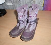 Продам сапожки демисезонные  тканевые Bobbi Shoes 27 р по стельке 17,5 см (она н. Харьков, Харьковская область. фото 3