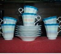 Сервиз Кофейный набор чашек с блюдцами (на 6 персон) НОВЫЙ. Киев. фото 1