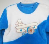 Прекрасная пижамка для мальчика ,зимняя,изготовленна на частной детской фабрике . Запорожье, Запорожская область. фото 3