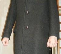 Мужское пальто р. 50, из натуральной шерсти. Запорожье. фото 1