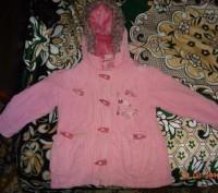Не дорого курточка на девочку 3-4 года.в хорошем состоянии.. Никополь, Днепропетровская область. фото 2