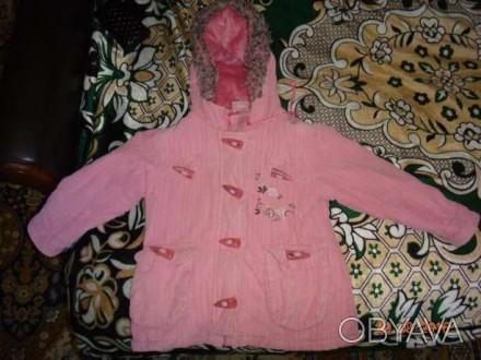 Не дорого курточка на девочку 3-4 года.в хорошем состоянии.. Никополь, Днепропетровская область. фото 1