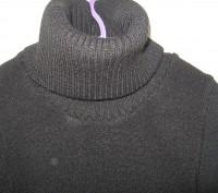 Черное вязанное платье для девочки на рост 146-152см,в хорошем состоянии,без деф. Днепр, Днепропетровская область. фото 6