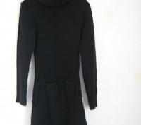 Черное вязанное платье для девочки на рост 146-152см,в хорошем состоянии,без деф. Днепр, Днепропетровская область. фото 2