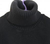 Черное вязанное платье для девочки на рост 146-152см,в хорошем состоянии,без деф. Днепр, Днепропетровская область. фото 3