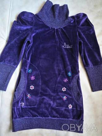 платье-туника Lilax Girls девочке на 7 лет,рост 122см,в хорошем состоянии,без де. Днепр, Днепропетровская область. фото 1