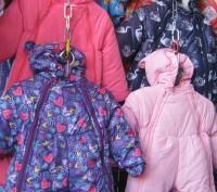 Детские зимние комбинезоны на возраст от 0 до 2-х лет от производителя. Непромок. Киев, Киевская область. фото 7